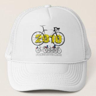 Planoの自転車2010の循環のロゴのティー及びギフト キャップ