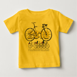 Planoの自転車2010の循環のロゴのティー及びギフト ベビーTシャツ