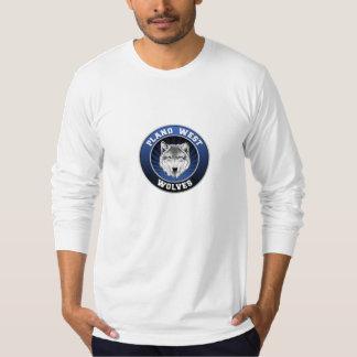 Planoの西のオオカミの長袖 Tシャツ