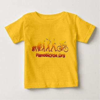 Plano Firestarter 3Dのサイクリングのロゴ ベビーTシャツ