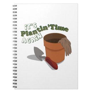 Plantinの時間 ノートブック