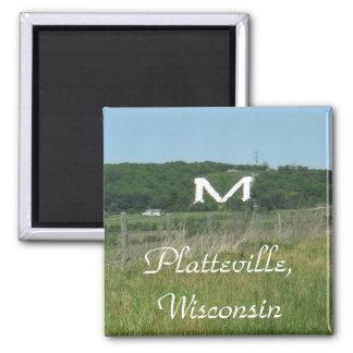 Plattevilleのウィスコンシンの磁石 マグネット