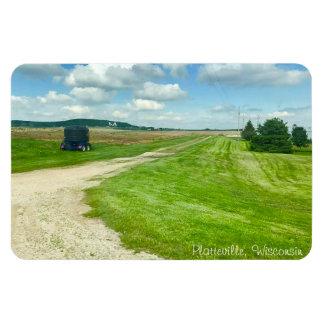 Plattevilleのウィスコンシン米国中西部の写真撮影の磁石 マグネット
