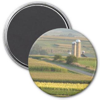 Plattevilleウィスコンシンの磁石の農場の景色 マグネット