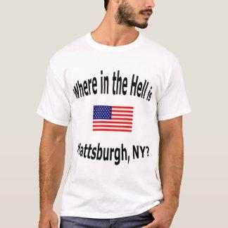 Plattsburghどこに、NYはありますか。 Tシャツ