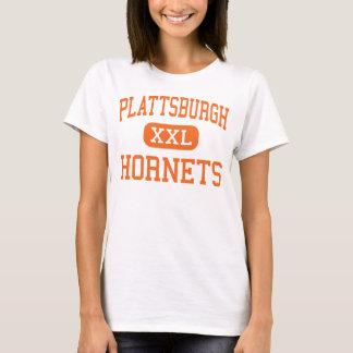 Plattsburgh -スズメバチ-高Plattsburgh Tシャツ