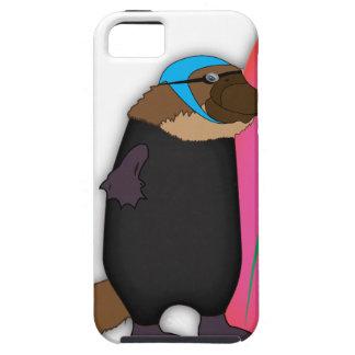 Platypusのウェットスーツ iPhone SE/5/5s ケース