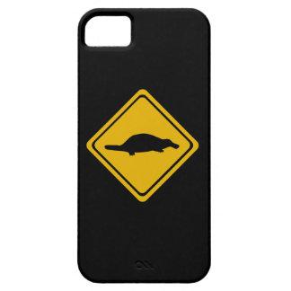 platypusの交通標識 iPhone SE/5/5s ケース