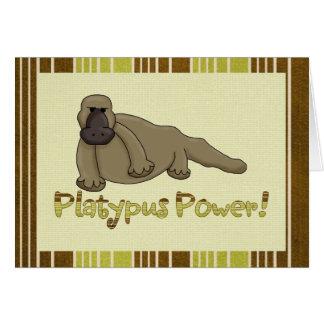 Platypus力 カード