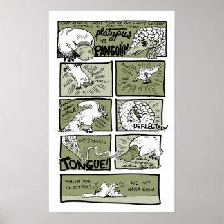 Platypus対センザンコウ ポスター