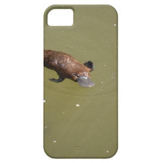 PLATYPUS EUNGELLAの国立公園オーストラリア iPhone SE/5/5s ケース
