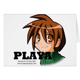 Playaの衣服 カード