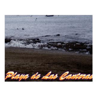 Playa de Las Canteras ポストカード
