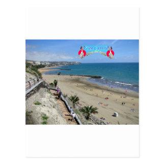 Playa del Ingles ポストカード