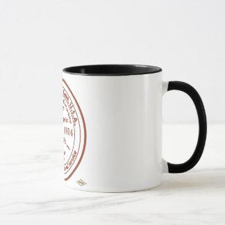 Playa del Reyの郵便局1904のゴム印 マグカップ