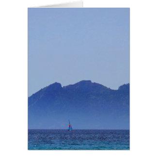 Playa Formentor Mallorca、ビーチのスペインの写真撮影 カード
