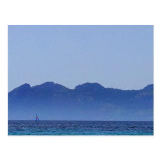 Playa Formentor Mallorca、ビーチのスペインの写真撮影 ポストカード