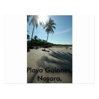 Playa Guiones ポストカード