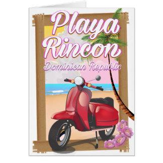 Playa Rinconのドミニカ共和国 カード