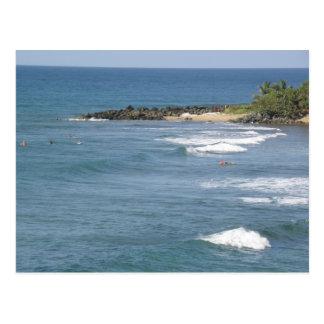 Playas deプエルトリコRicon ポストカード