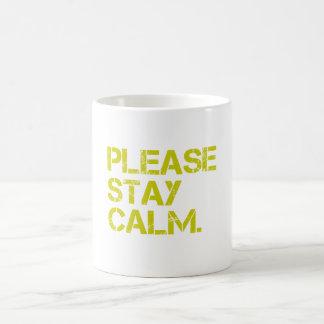 PleaseStayCalmのマグ コーヒーマグカップ