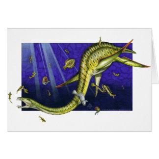 Plesiosaurの挨拶状 カード