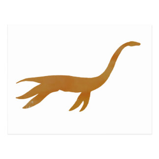 plesiosaurの骨組 ポストカード