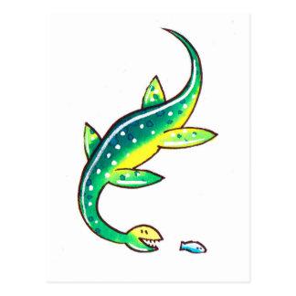 Plesiosaur ポストカード