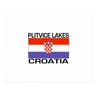 Plitvice湖、クロアチア ポストカード