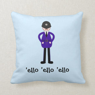 Plod Policeman氏 クッション