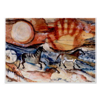 PMACarlsonの岩石彫刻ポスター ポスター