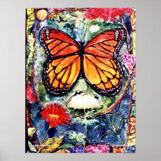 PMACarlsonの(昆虫)オオカバマダラ、モナークポスター ポスター