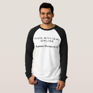 PMOの人のビジネスOwnersR U Sの長袖のワイシャツ Tシャツ