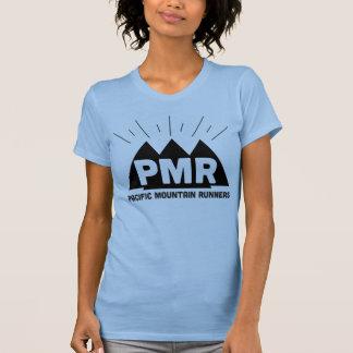 PMRのロゴの女の子のティー Tシャツ