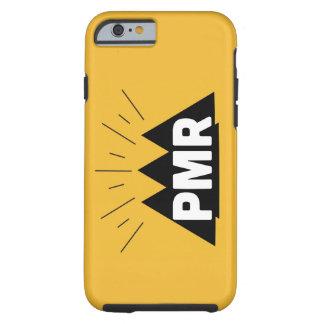 PMRのロゴのiPhone 6の堅い場合 ケース