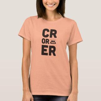 PMR CRまたはERの女の子のティー Tシャツ