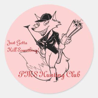 PMSの狩りクラブ ラウンドシール