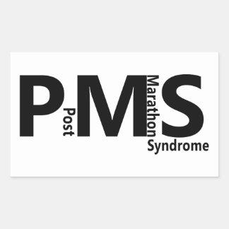 PMS 長方形シール