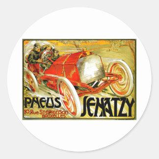 Pneusは~のSenatzyのカーレースのブリュッセルポスターを疲れさせます ラウンドシール