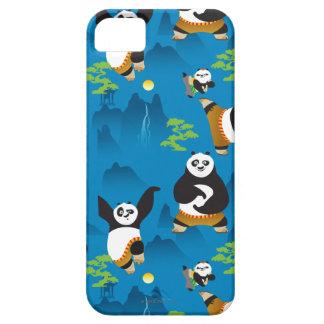 PoおよびBaoの青パターン iPhone SE/5/5s ケース