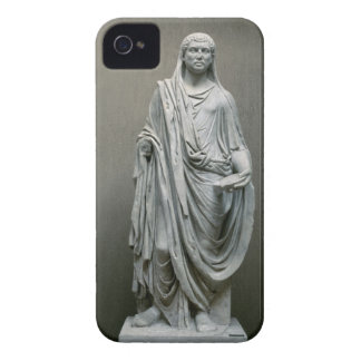 Poとして皇帝Maxentius (306-312広告)の彫像 Case-Mate iPhone 4 ケース