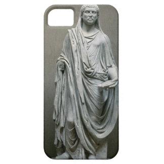 Poとして皇帝Maxentius (306-312広告)の彫像 iPhone SE/5/5s ケース