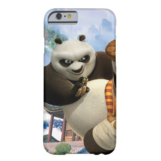 Poの蹴り Barely There iPhone 6 ケース