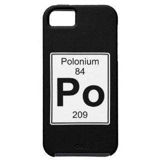 Po -ポロニウム iPhone SE/5/5s ケース