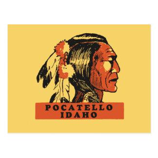 Pocatelloアイダホ ポストカード