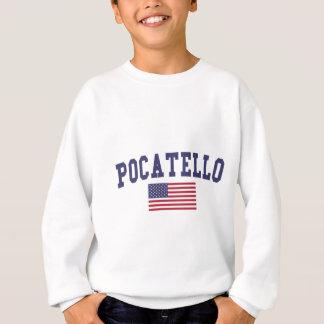 Pocatello米国の旗 スウェットシャツ