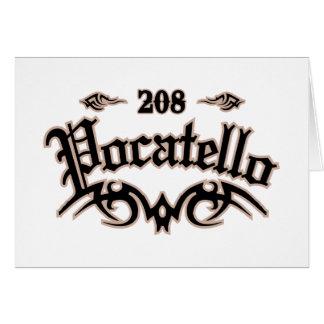 Pocatello 208 カード