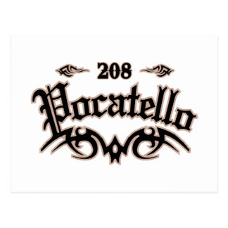 Pocatello 208 ポストカード