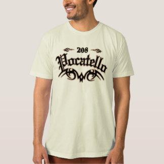 Pocatello 208 tシャツ