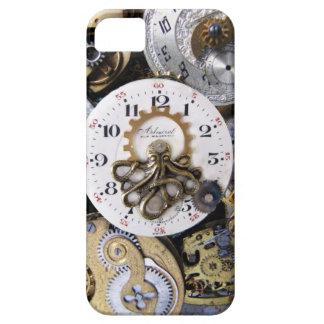 Pocketwatchの金タコ- Krakenの時間 iPhone SE/5/5s ケース